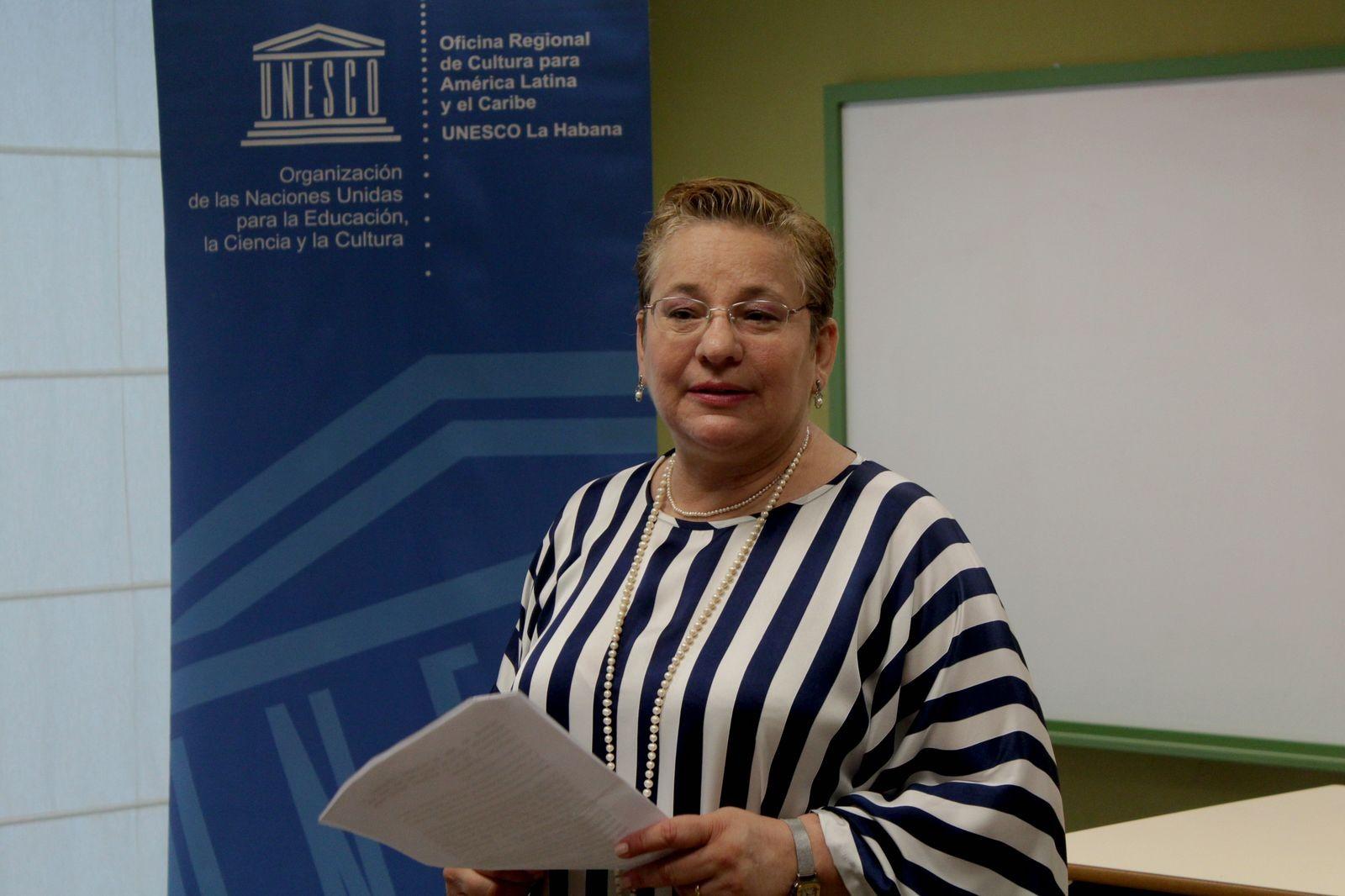 Katherine Müller, Directora Regional de Cultura para América Latina y el Caribe de la UNESCO