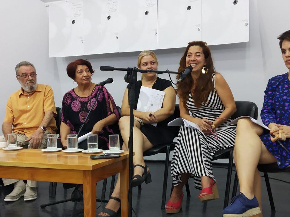 Momentos de la Conferencia de Prensa. Foto tomada de Casa de Las Américas / Facebook