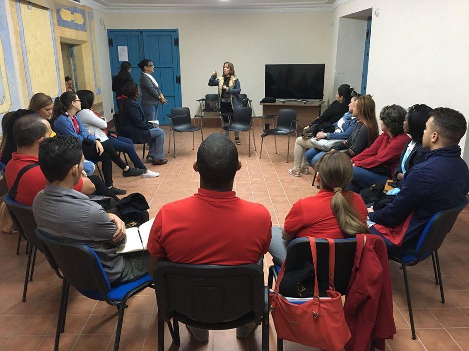 curso de LSC guias san Cristobal