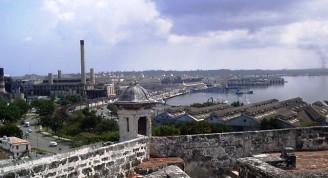 Vista a la bahía desde el castillo