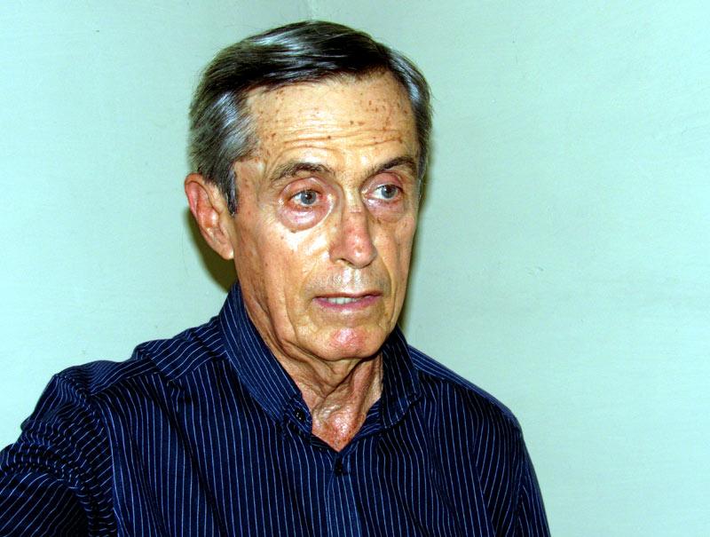 Iram Pérez, presidente de la filial provincial de la Unión de Nacional de Historiadores de Cuba. Foto: Alexis del Toro / Periódico Ahora