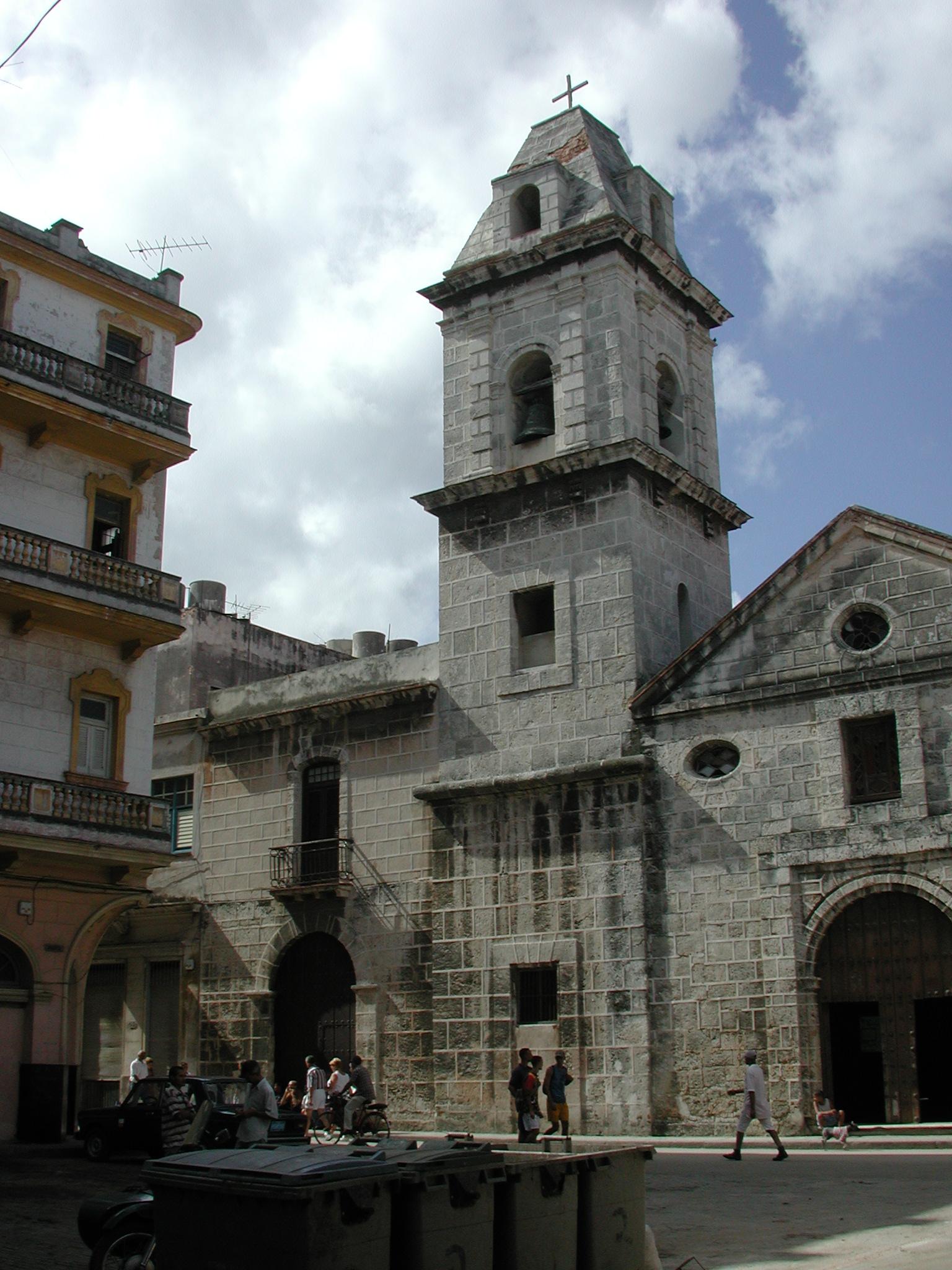 Plazuela del Espíritu Santo antes de la restauración