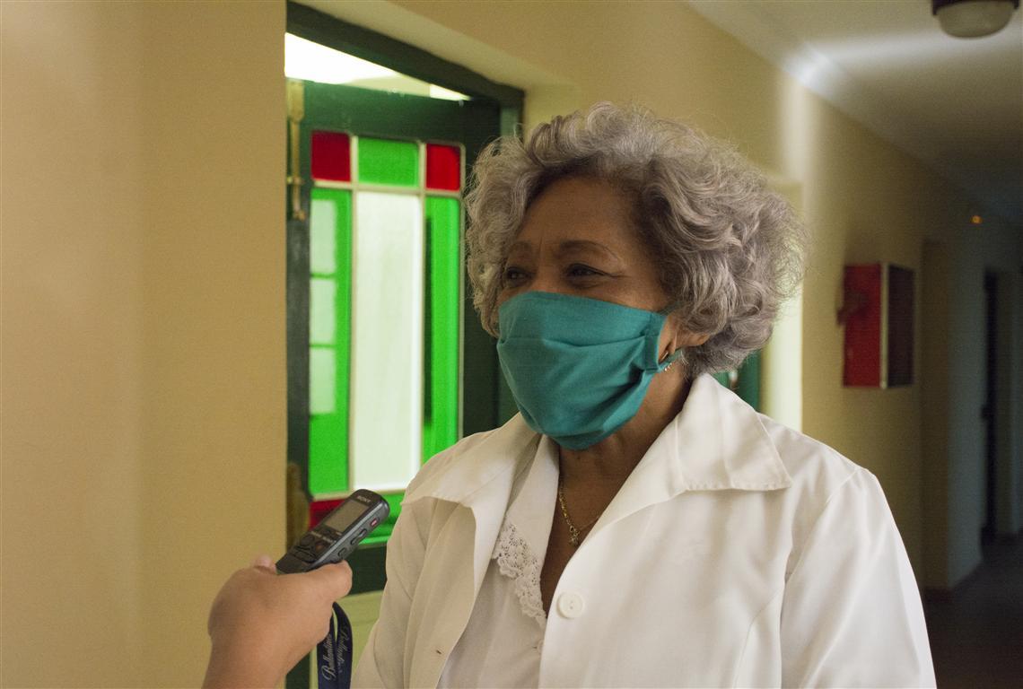 Lourdes Menéndez Dueñas, responsable directa de la residencia interna de Belén