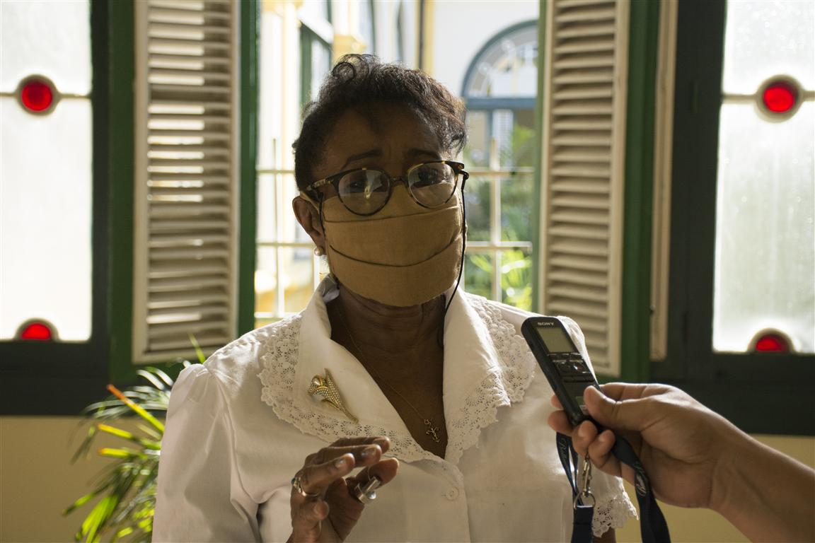 Esther Ruiz Bofill, Directora de la Oficina de Asuntos Humanitarios
