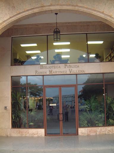 "Biblioteca Provincial ""Rubén Martínez Villena"