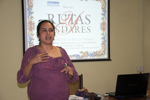 Katia Cárdenas, Directora de Gestión Cultural de la Oficina del Historiador de la Ciudad de La Habana