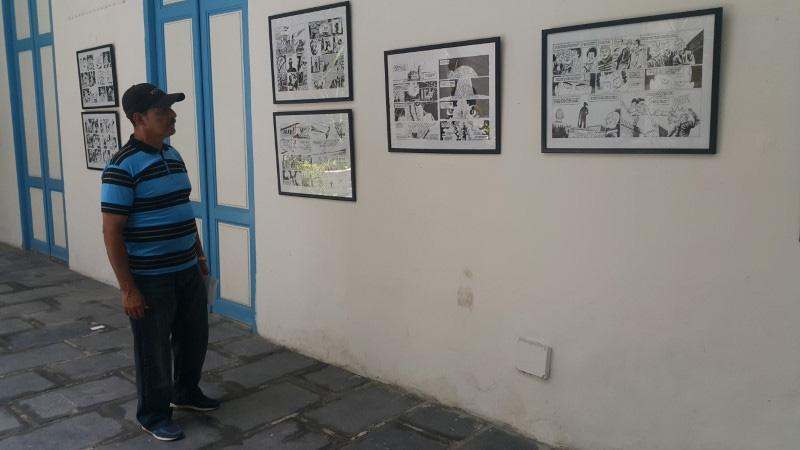 Exposición en Vitrina