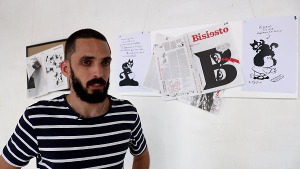 El artista Irán Hernandez