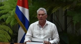 Díaz-Canel-en-Foro-Virtual-de-líderes-del-Foro-de-Sao-Paulo-ER-580x435