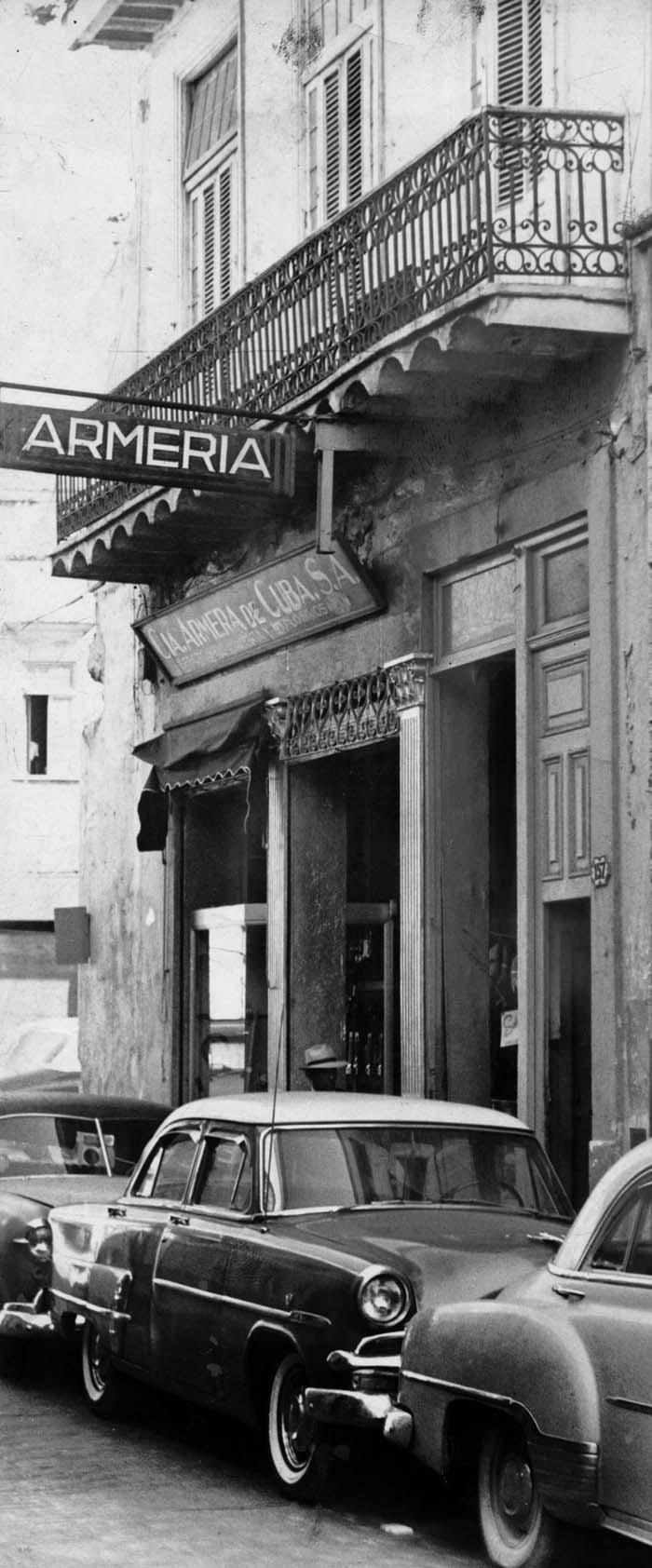 La Armería, años de 1950