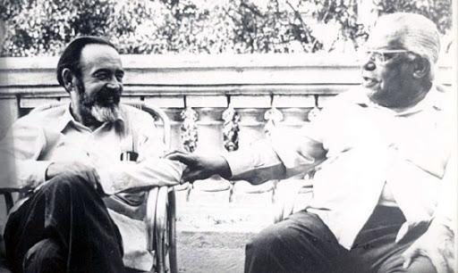 Eliseo Diego y Nicolás Guillén