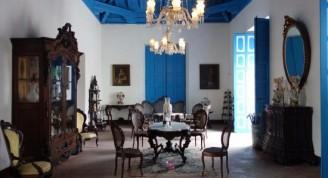 Una de las salas expositivas del Museo de Arte Colonial