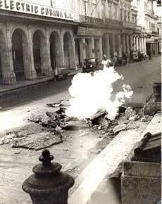 Acciones de la huelga en La Habana