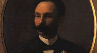 José Martí, 1901  Armando García Menocal José Martí, 1901 Óleo sobre tela 102 x 90 cm