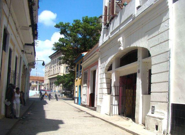 Calle Leonor Pérez (Paula) hacia Egido