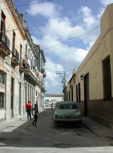 Calle Leonor Pérez (Paula) hacia la Avenida del Puerto