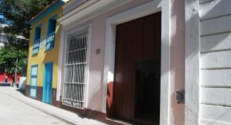 Calle Leonor Pérez y la casa natal de José Martí.
