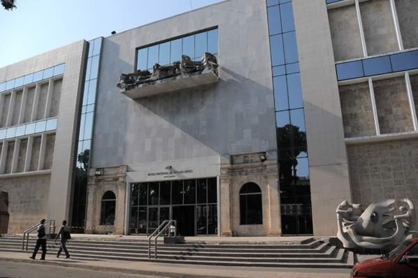 Edificio de Arte Cubano del Museo nacional de Bellas Artes