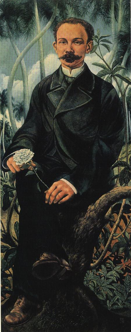 Cultivo una rosa blanca, 1976 Cosme Proenza Cultivo una rosa blanca, 1976 Acrílico sobre tela 167 x 66 cm