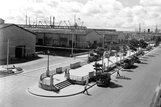 Vista antigua Espigones Alameda de Paula