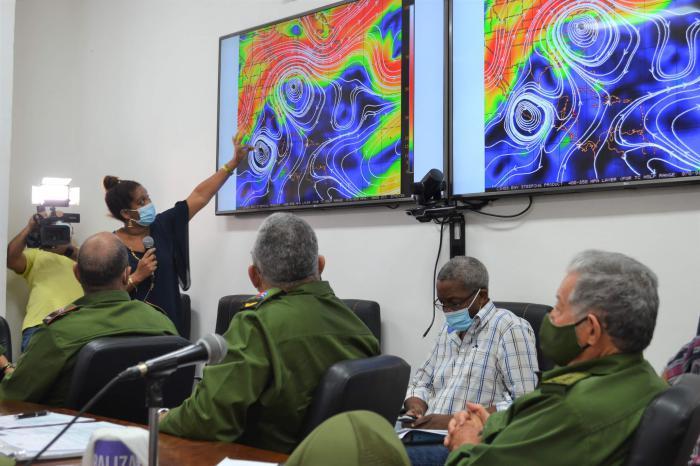 Consejo de Defensa analiza situación de la tormenta tropical Eta Foto: Ricardo Gómez