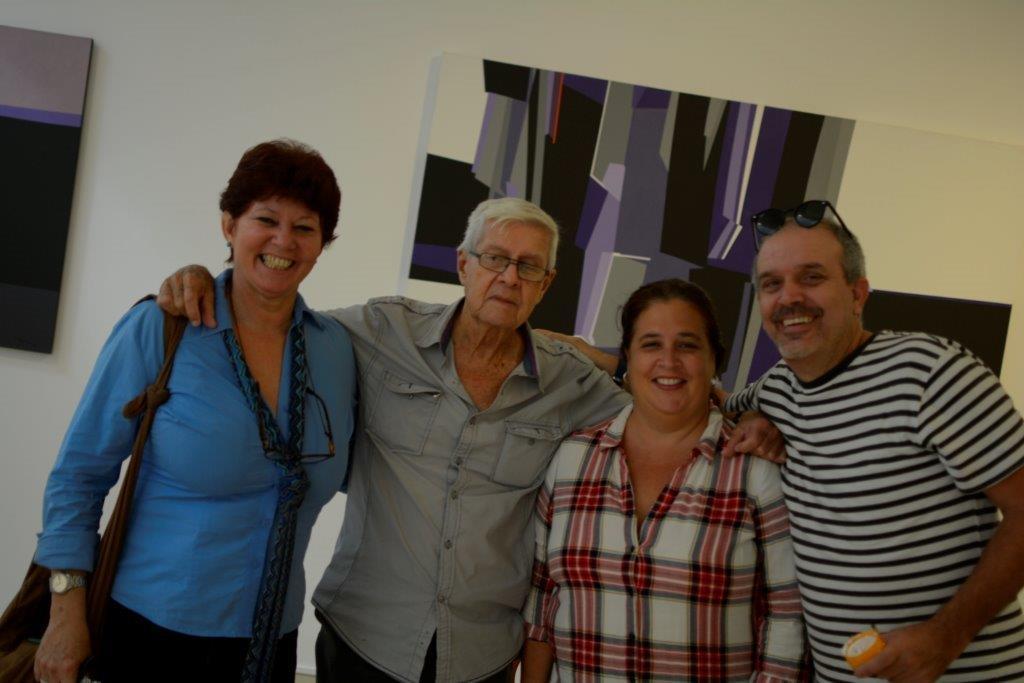 Con Pedro de Oraá, Elsa Vega y Andy Rivero