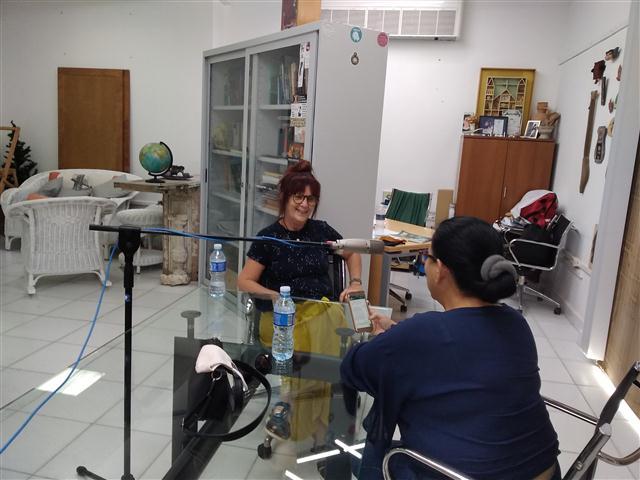 """La Dra. Arq. Patricia Rodríguez Alomá, directora del Plan Maestro, ofrece una entrevista a Yamira Rodríguez para el programa """"Habáname"""""""