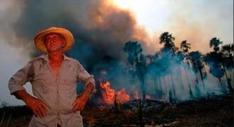 Los incendios generan serios problemas respiratorios agravados por la Covid-19. Foto WWF.