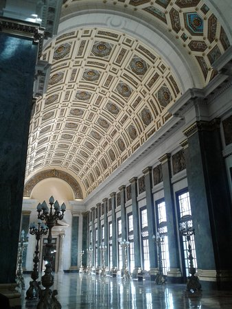 Salón de los Pasos Perdidos, en el Capitolio Nacional