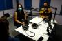 Durante la grabación de El podcast de Cubadebate en los estudios de Nexos Radio en la Facultad de Comunicación. Foto: Ariel González Calzado/ Cubadebate.