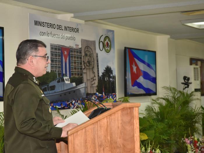Aniversario 60 del Ministerio del Interior Foto: Estudios Revolución