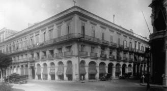 Esquina de Prado y Teniente Rey, 1928