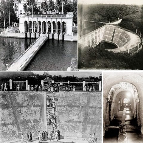 Acueducto Albear (antes) Foto de la Web.
