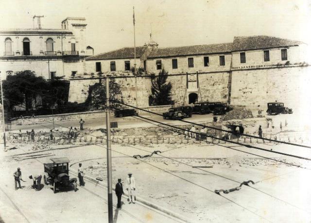 Castillo de la Fuerza (obras, 1932)