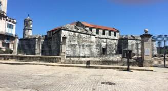 Plaza de Armas (Castillo de la Fuerza) actualidad