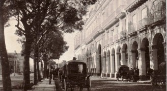 Hotel Pasaje, finales del siglo XIX