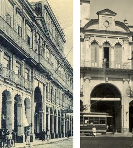 Entrada al Pasaje por Prado y por Zulueta