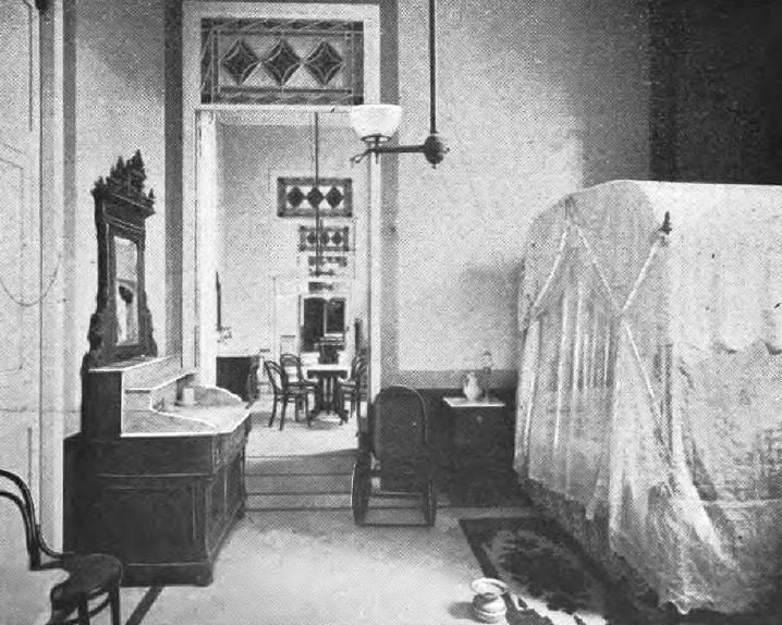 Habitación, finales del siglo XIX