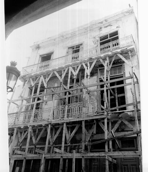 Mercaderes 157, antes de la restauración