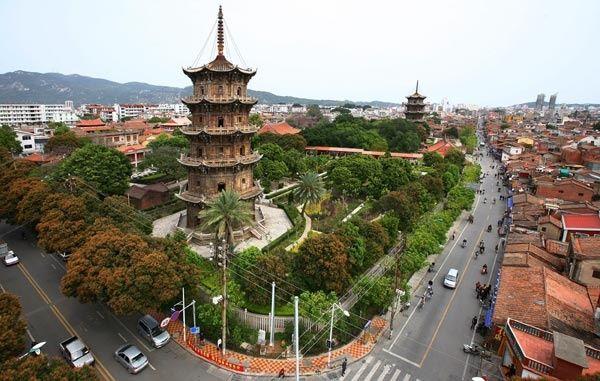 La ciudad china de Quanzhou atesora antiguos edificios religiosos y otros vestigios arqueológicos.| Foto: China Daily