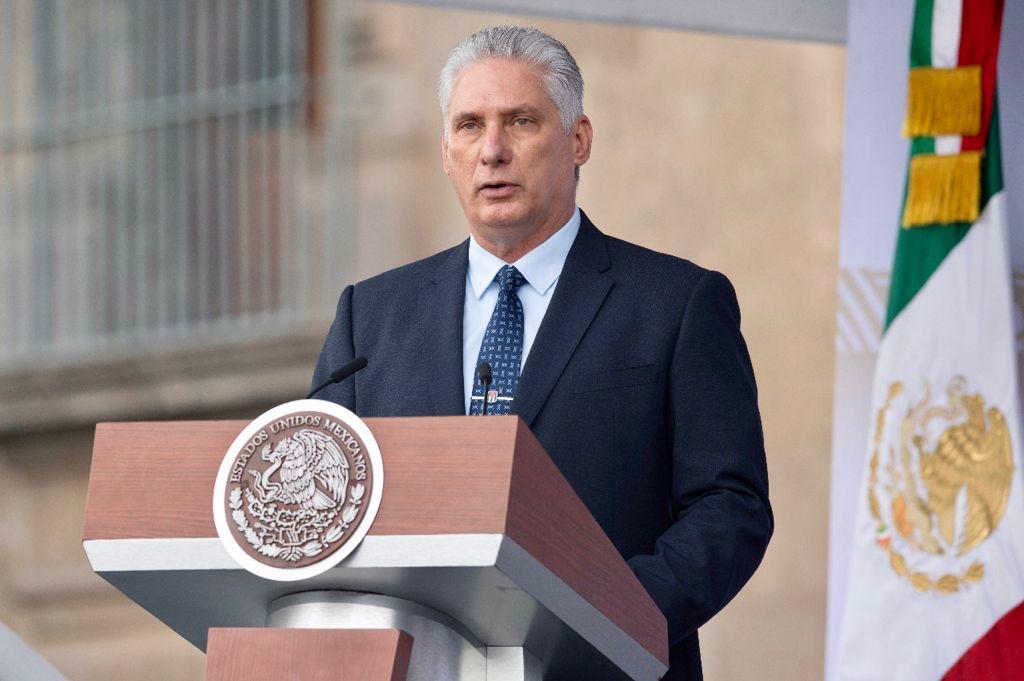 México fue el único país de América Latina que no rompió relaciones con la Cuba revolucionaria cuando fuimos expulsados de la OEA por mandato imperial, dijo el mandatario. Foto: @GobiernoMx