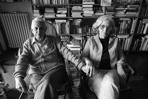 Cintio Vitier junto a su esposa Fina García Marruz