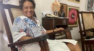 """Marta Rojas, autora del libro el """"El juicio del Moncada"""". Foto: Cubadebate."""